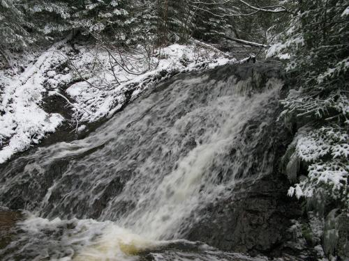 Dusting of snow on the falls
