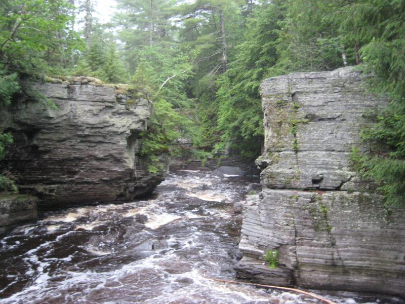 Canyon River Falls on Sturgeon River | Waterfalls of the Keweenaw