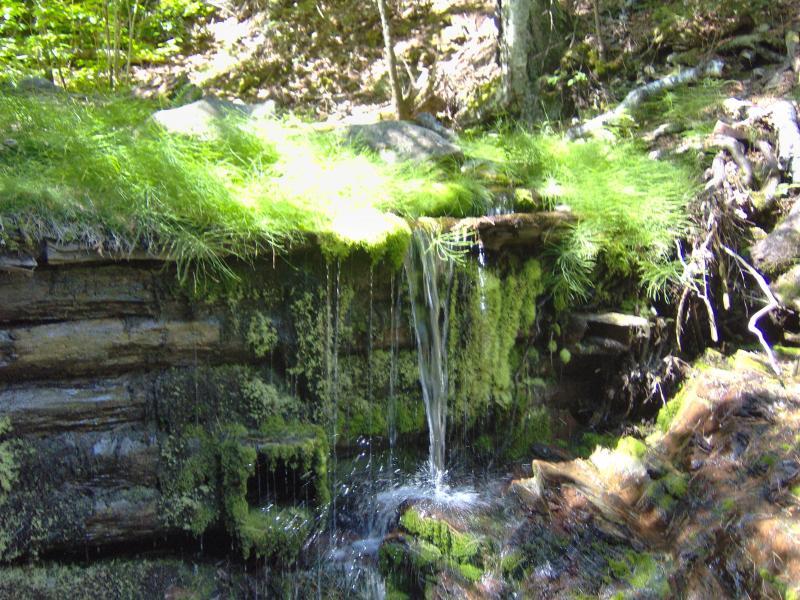 Copper Falls On Owl Creek Waterfalls Of The Keweenaw