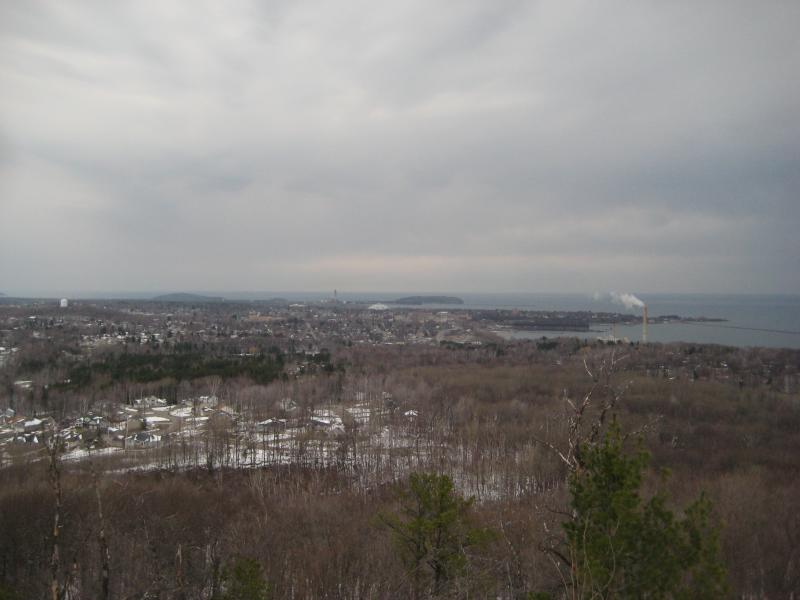 North view over Marquette