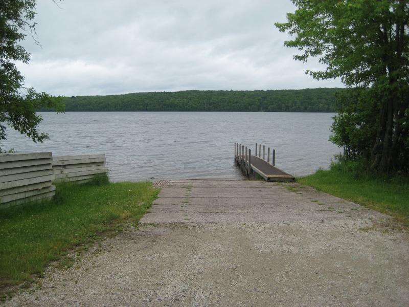 Boat launch on Otter Lake