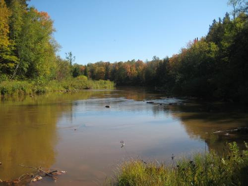 Muddy Ontonagon River