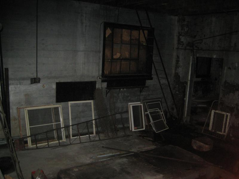Random storage inside the old power station