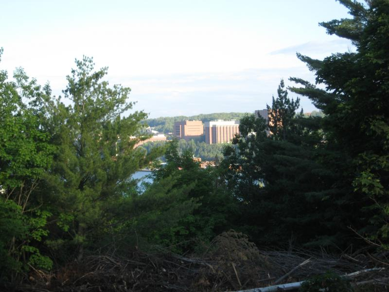 Michigan Tech from across the portage