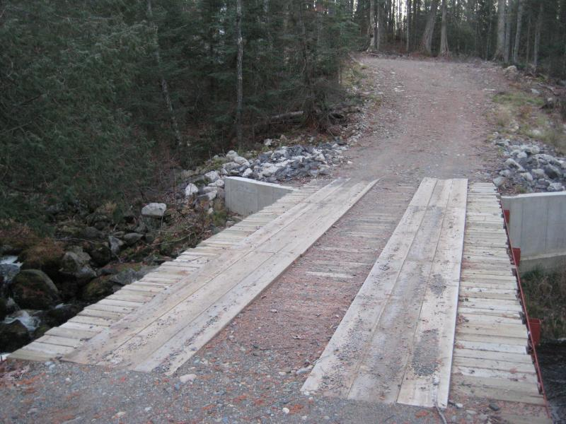 A bridge over Sturgeon River