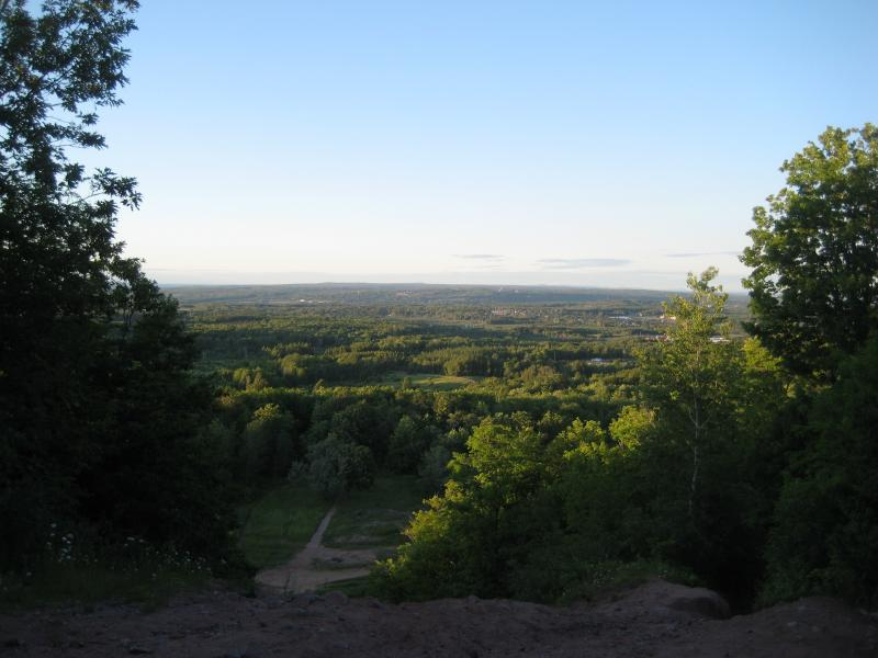 Looking north towards the Keweenaw