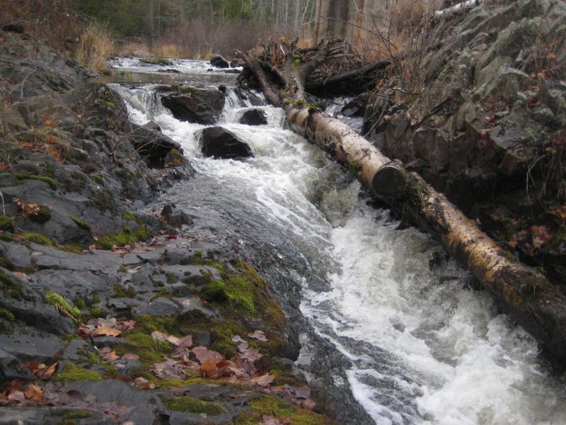 Falling Down Stream